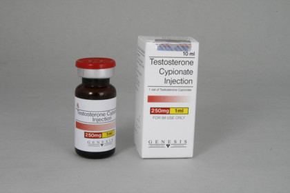 Testosteron Cypionaat injectie 250mg/ml (10ml)